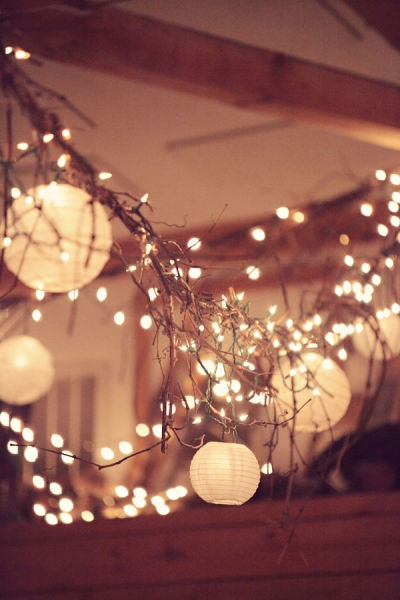 lanterns and branches